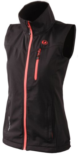 Ultrasport Damen Softshell Weste Athina, black dubarry, L, 10099