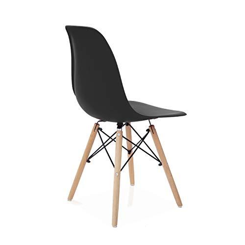3. Silla de escritorio sin ruedas multifuncional Duehome Nordik