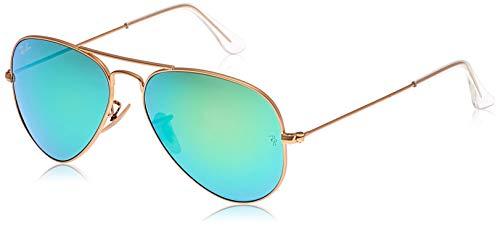 Ray Ban 0RB3025 - Gafas de sol Large Metal, 112/19: Oro mate - 55 mm