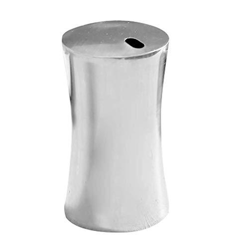 Dispensador de palillos de dientes organizador de acero inoxidable para almacenamiento de mesa