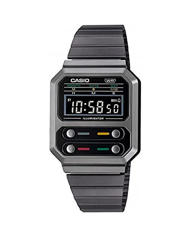 Reloj Casio Collection Vintage Series Digital Grey A100WEGG-1AEF