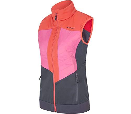 Ziener Niya Lady Active Vest - pink Dahlia