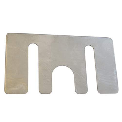 ATIKA Ersatzteil | Ausgleichsplatte 0,7 mm für Holzspalter ASP 10 T/ASP 10 TS/ASP 12 TS