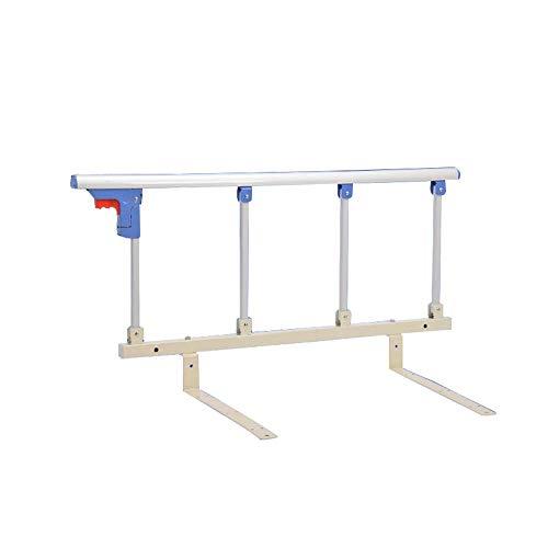 MXueei ZfgG bedtrampe voor kinderbed, handvat van metaal, opvouwbare stopper, voor ziekenhuis, veiligheidsbeveiliging