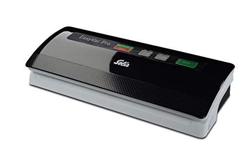 Solis Vakuumiergerät, Für trockene, feuchte und empfindliche Lebensmittel, Schwarz/Grau, EasyVac Pro