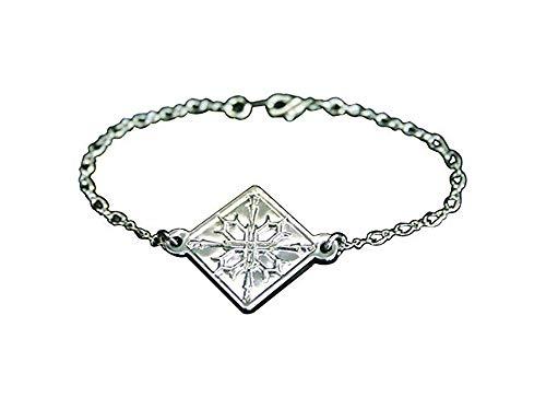Ilovcomic Vampire Knight Cosplay Accessories Kurosu Yuki Silver Bracelet