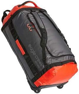 Eagle Creek - Cargo Hauler 120L Foldable Rolling Duffle Bag - Flame/Asphalt