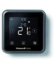 Honeywell Home Y6R910WF6042 Lyric T6 Wi-Fi kamerthermostaat en bedrade ontvangerbox, wandmontage, zwart