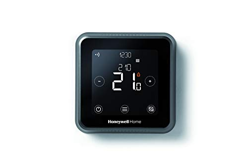 Honeywell Home T6 - Termostato programable Inteligente, WiFi, Montaje en Pared, Negro