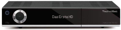 Technisat DigiCorder HD S3 - HDTV TWIN-Satellitenreceiver (320 GB Festplatte, CI+, UPnP, Ethernet) schwarz