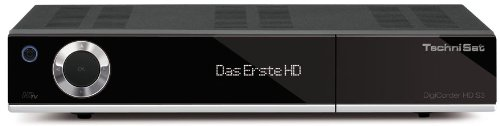 Technisat DigiCorder HD S3 - HDTV TWIN-Satellitenreceiver (320 GB Festplatte, CI+, UPnP, Ethernet) schwarz