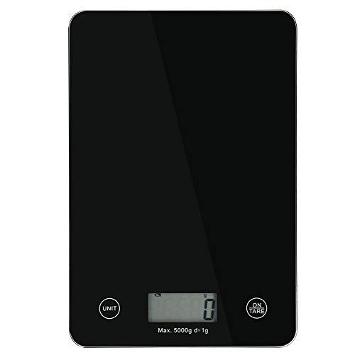 Báscula digital automática para alimentos, fácil de usar, báscula electrónica de peso, mini alta precisión para cafés de cocina de restaurante en casa