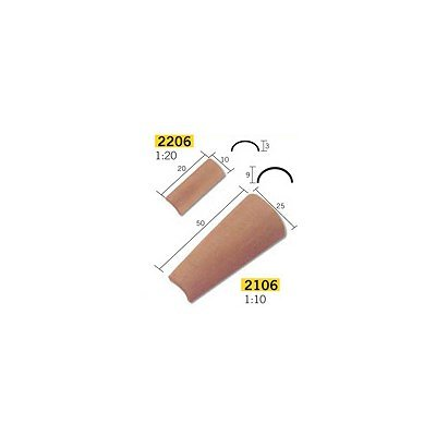 Aedes Tejas Aedes21061, Escala 1, 10, 100 Unidades, Color Ro