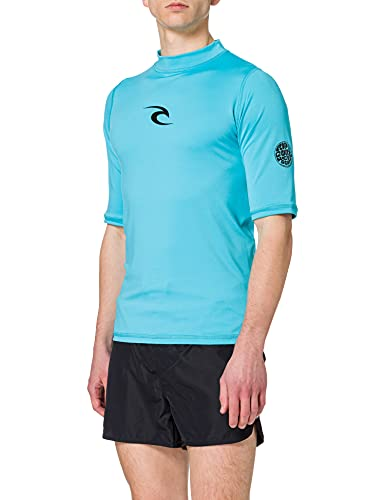 RIP CURL WLE4KM Camiseta, Hombre, Azul, FR : XL (Taille Fabricant :...