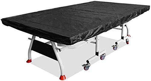 Couverture Liyue-meubles Housse intérieure extérieure Tennis de table Couverture Oxford Weatherproof imperméable Tissu Ping-pong Protection Dust Cover 280x150x5cm (Color : Black)