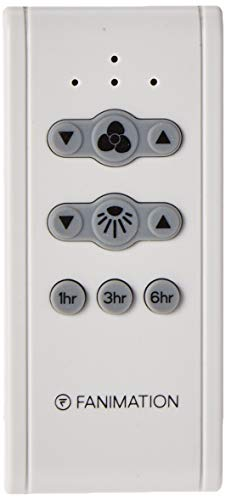 Fanimation CR500 Ceiling Remote with Receiver Non-Reversing-Fan Speed,...
