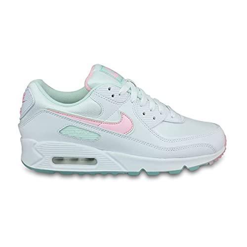 Nike Wmns Air Max 90, Scarpe da Ginnastica Donna, White/Multi, 41 EU