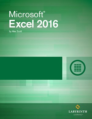 Microsoft Excel 2016: Level 1, Printed Textbook with ebook
