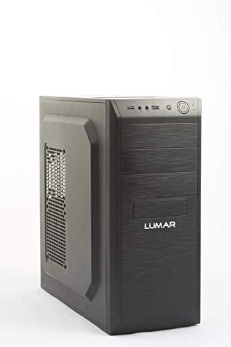 LUMAR Ordenador Sobremesa/Intel Core i3 (3.3GHz) 8GB RAM, 960GB SSD, DVDRW, HDMI, USB 3.0, Red 1GB, 5.1 HD, Windows 10 Pro Trial