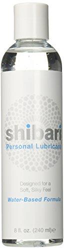 Shibari Premium Personal Lubricant, Water Based Lube, 8 Ounce Bottle