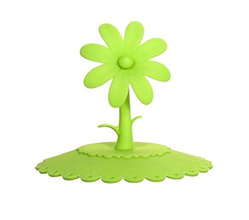 Creative Couvercle en silicone étanche Coupe, Vert