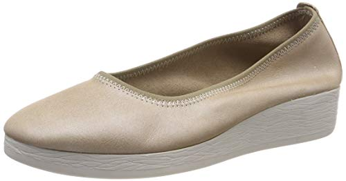 Softinos Damen AVO524SOF Pumps, Beige (Cream 004), 37 EU