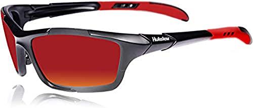HULISLEM S1 Sport Polarized Sunglasses For Men...