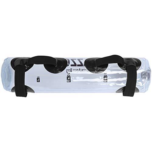 Cikonielf Alternative Sandsack – Aqua Bag – Kraftsporttasche Fitness Water Bag für Gewichtstraining, tragbar, Stabilität, Ausrüstung 20 kg mit Griffen, 83 x 20 cm