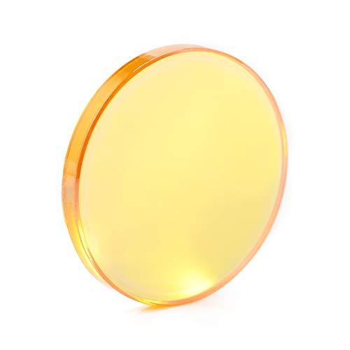 NLLeZ CO2 China ZnSe Fokuslinse Dia.12 18 19 20 mm for Lasergravur-Schneidemaschine FL50.8 63.5 76.2 101.6mm (Farbe : 20mm, Größe : 76.2mm)