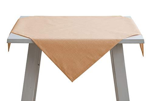 Pichler FINCA Tischdecke 130x170cm Peach (PC) abwischbar für drinnen und draußen