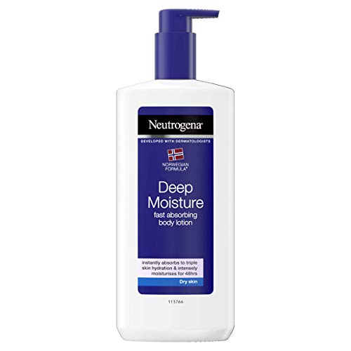 Neutrogena Norwegische Formel Deep Moisture Sensitive Bodylotion, 1er Pack (1 x 400 ml)