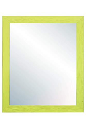 Chely Intermarket, Espejo de Pared Cuerpo Entero 50X70 cm(57,50x77,50cm)/Verde/Mod-146, Ideal para peluquerías, salón,...