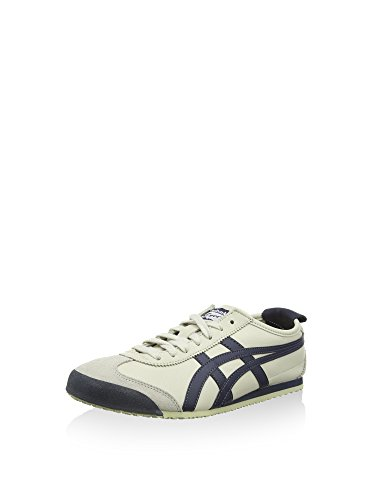 Onitsuka Tiger Mexico 66, Zapatillas Unisex Adulto, Blanco (Birch/India Ink/Latte 1659), 39.5 EU