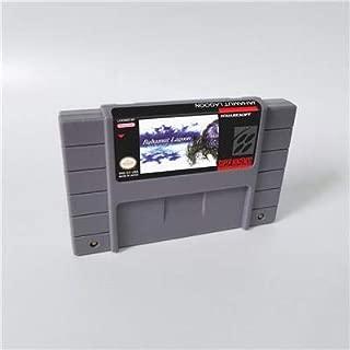 Game card - Game Cartridge 16 Bit SNES , Game Bahamut Lagoon - RPG Game Card US Version English Language