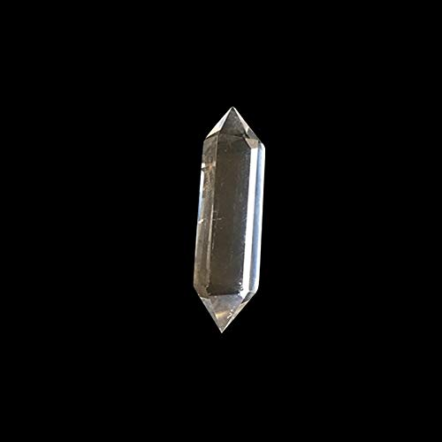 W.Z.H.H.H Crystal Rough Bianco Cristallo pilastro tansparent Pietre e minerali Decorazione Pietra da Collezione di Pietra Fai da Te .Cristalli di guarigione (Color, Size : 80-90mm)