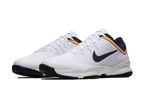 Nike Air Zoom Ultra, Zapatillas de Deporte Hombre, Multicolor (White/Blackened Blue/Light Cream 180), 40.5 EU