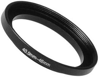 Fotodiox Step Up Ring aus eloxiertem schwarzem Metall, Keine, schwarz, 40.5 46 mm