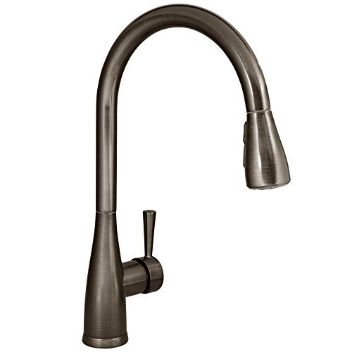 Mirabelle MIRXCCA100MORB Mirabelle MIRXCCA100M Calverton Pullout Spray Kitchen Faucet with Magnetic...