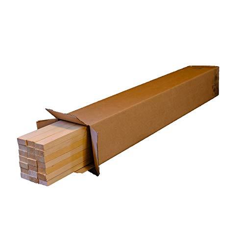 LIstones de madera/ 100 x 4 x 2 cm