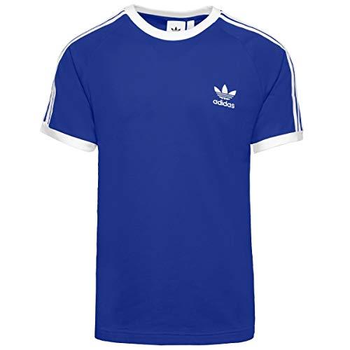 adidas 3-Stripes Tee T-Shirt (Short Sleeve), Uomo, Royblu, S