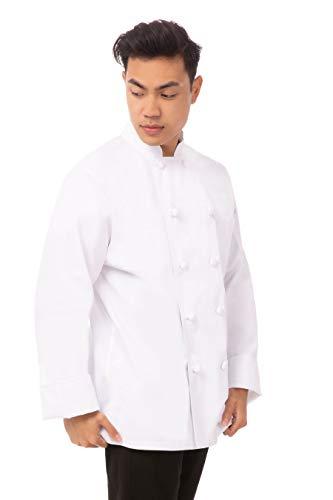 100 cotton chef coat men - 9