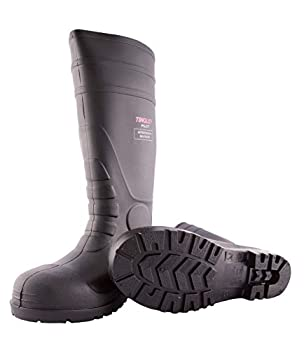 Tingley 31251.08 Pilot 15-in Cleated Steel Toe Knee Boot Size 8 Black
