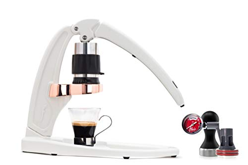 Flair Signature Espresso Maker (Pressure Kit, White)