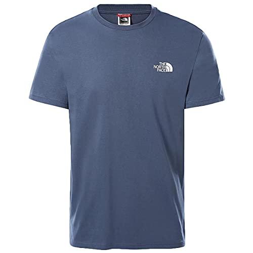The North Face Men's S/S Simple Dome tee Camiseta, V.Indigo, L Hombre