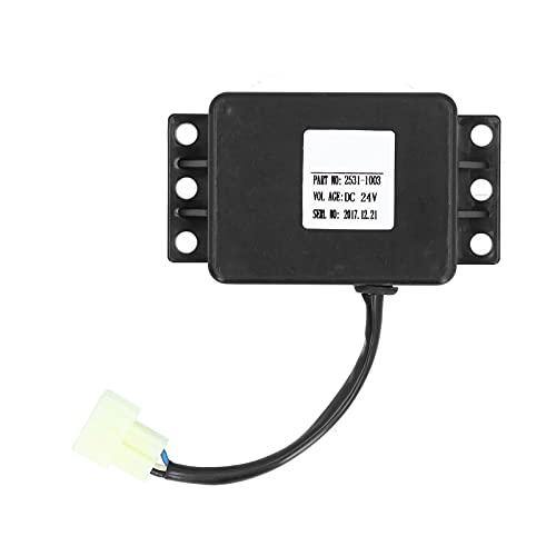 Mini Interruptor de relé de Tiempo, Circuito de Control de Tiempo del Controlador de relé en línea para Suministro de Excavadora 2531-1003 DC24V