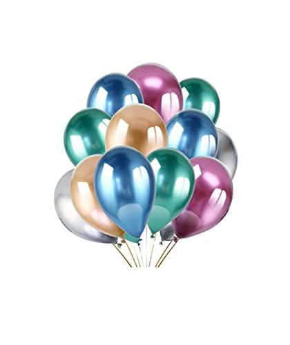 MAXIMN Conjunto Globos de 100 Piezas, Color Pastel (Macaron), Globos de Colores...