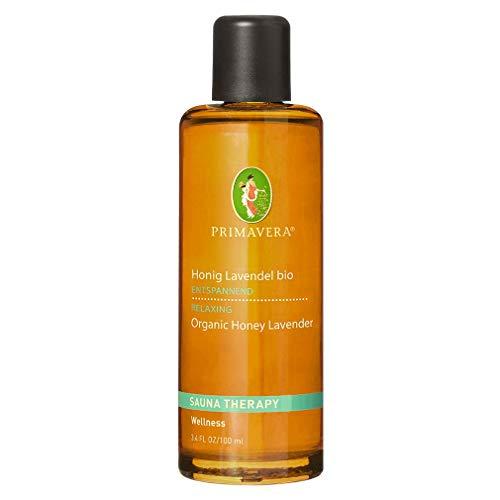 PRIMAVERA Aroma Sauna Honig Lavendel bio 100 ml - Saunaöl, Aromatherapie - warm blumig-krautiges Honig- und Lavendelaroma - entspannend