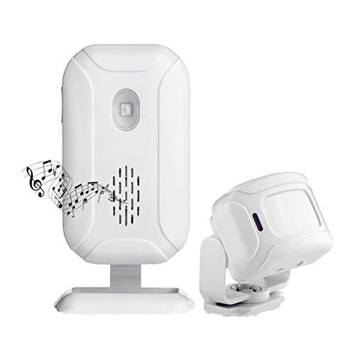 Alarma de bienvenida inalámbrica de moda Timbres tienda entrada sensor de movimiento detector infrarrojo inducción puerta Bell