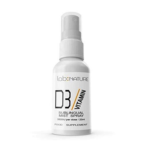 Vitamin D Spray | 3000 IU of the Vitamin D3 | Easy To Use 1 Spray a Day | Raspberry Flavour