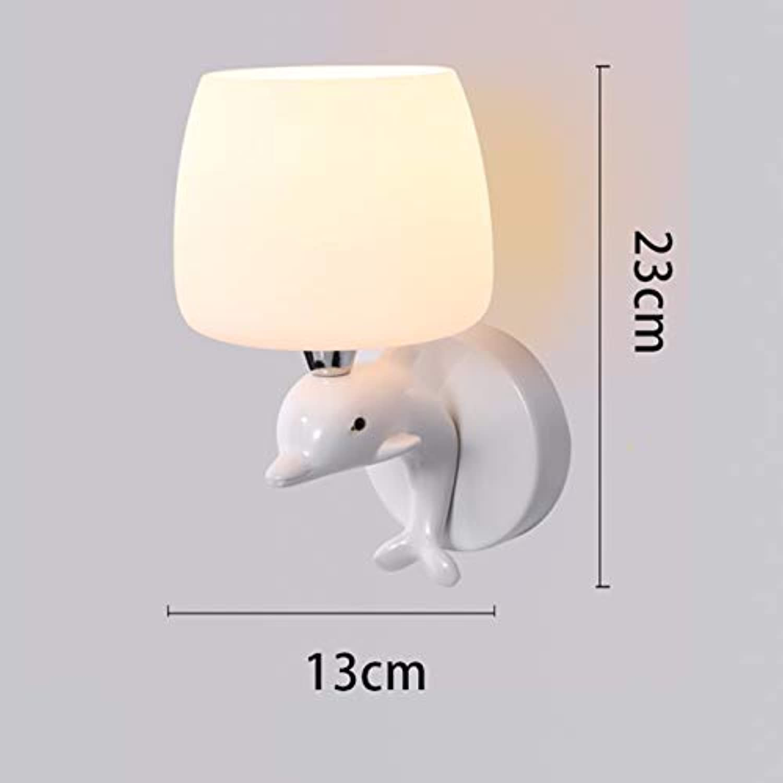 Wandleuchte Nachttischlampe Einfache Treppenwandlampe, D
